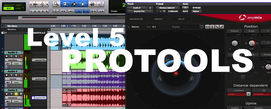 Formation Pro Tools Level 5