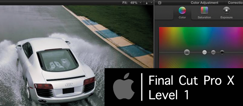 Final Cut Pro X – Level 1