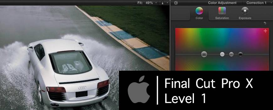 Final Cut Pro X Level 1