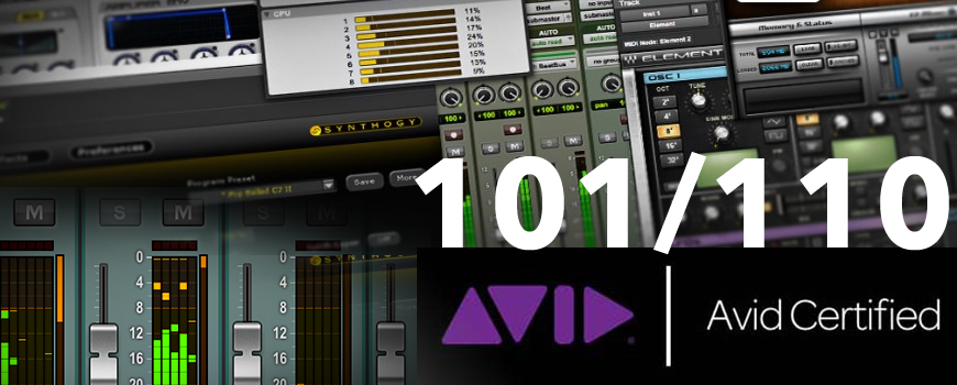 Formation Pro Tools 101-110