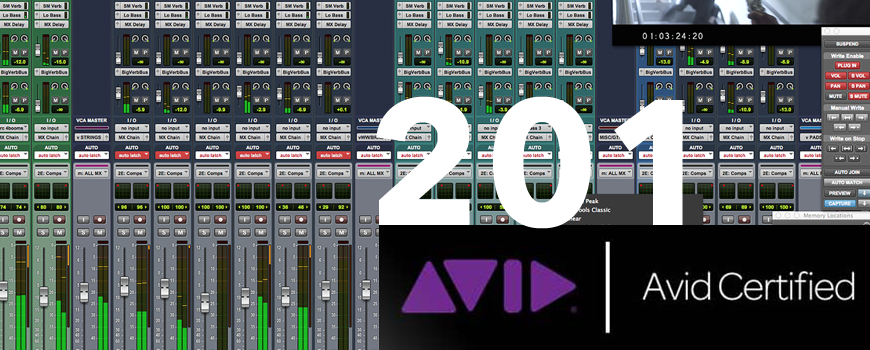 Formation Pro Tools 201