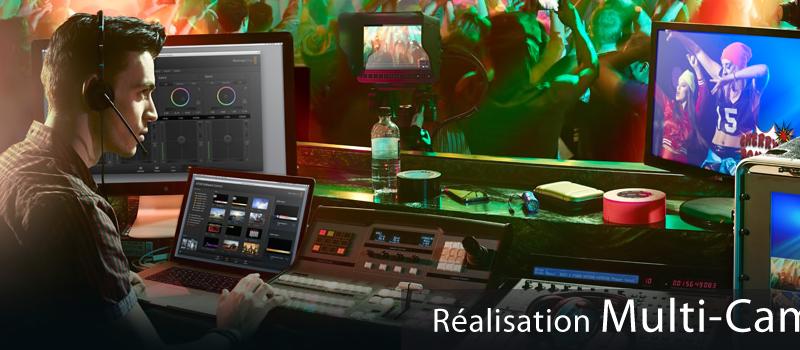 Réalisation Multi-cameras HD