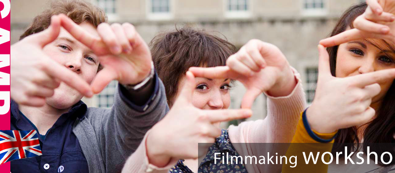 "Summer Camp Anglais ""Film making workshop"" – Stage d'été"